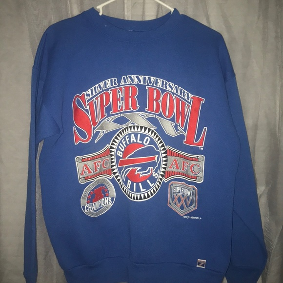 e9339ac1 Buffalo Bills Vintage Super Bowl sweatshirt